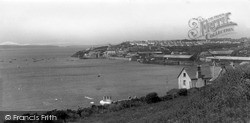 Milford Haven, Hanklin And The Docks Entrance c.1955