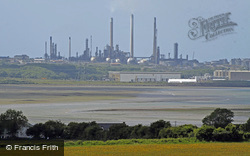 Texaco Oil Refinery, Rhoscrowther c.2000, Milford Haven