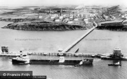 Milford Haven, The Esso Refinery c.1960