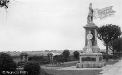 Milford Haven, The Memorial c.1955