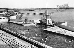Milford Haven, The Swimming Pool c.1960