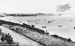Milford Haven, View From Pointfields c.1955