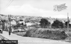 Milford Haven, View From Waterloo Road c.1950