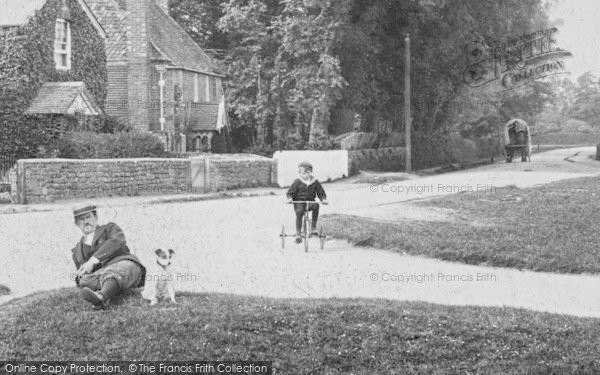 Photo of Milford, Mousehill, A Quiet Moment 1906