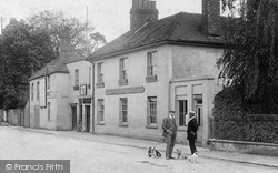 Milford, Off To The Red Lion Hotel 1908