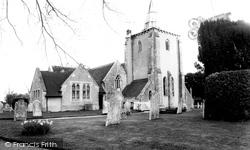 All Saints Church c.1960, Milford On Sea