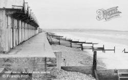 Beach c.1960, Milford On Sea