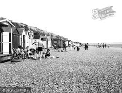 Beach Huts c.1960, Milford On Sea