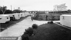Milford On Sea, Downton Holiday Camp c.1955