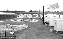 Downton Holiday Camp, The Children's Pool And Sandpit c.1955, Milford On Sea