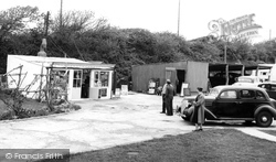 Milford On Sea, Downton Holiday Camp, The Shop And Reception c.1955