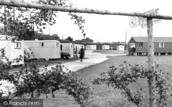 Milford On Sea, Downton Holiday Camp, View From The Entrance c.1955