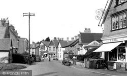 High Street c.1955, Milford On Sea
