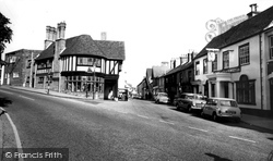 High Street c.1960, Milford On Sea