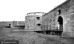 Hurst Castle c.1960, Milford On Sea
