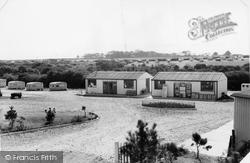 Sea Breeze Caravan Camp c.1955, Milford On Sea