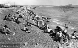 The Beach c.1960, Milford On Sea