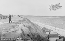 The Cliffs c.1955, Milford On Sea