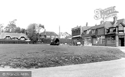 Milford On Sea, The Green c.1955