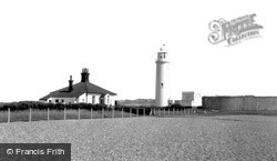 The Lighthouse, Hurst Point c.1960, Milford On Sea