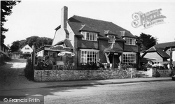 Milford On Sea, The Mill House Restaurant c.1960