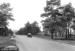 Milford, Rodborough Hill, Portsmouth Road 1927