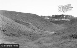 Milford, Surrounding Hills c.1955