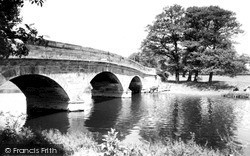 Milford, The Bridge c.1955