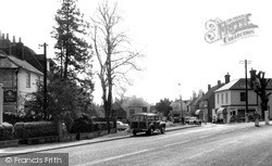 Milford, The Cross Roads c.1960