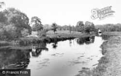 Milford, The River Sowe c.1955