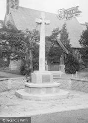 Milford, War Memorial 1921