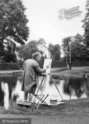 Mill Hill, An Artist c.1965