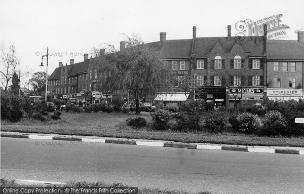 Photo of Mill Hill, Apex Corner c1955