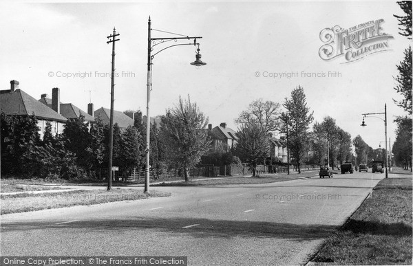 Photo of Mill Hill, Barnet Way c.1955