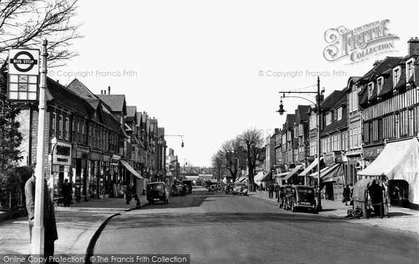Photo of Mill Hill, Broadway c.1955