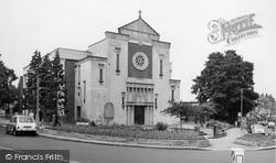 Mill Hill, Catholic Church And Broadway c.1965