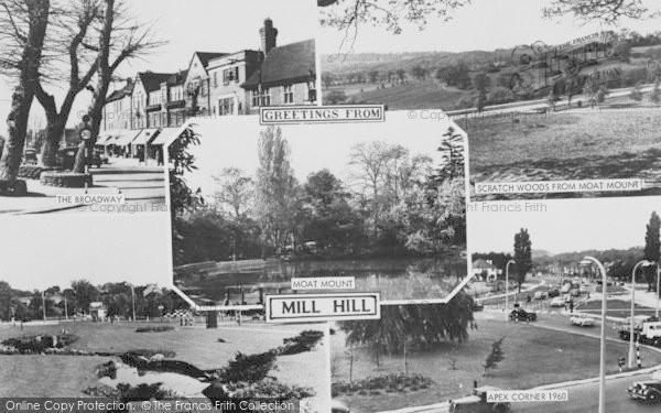 Photo of Mill Hill, Composite c.1960