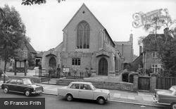 Mill Hill, St Michael's Church c.1965