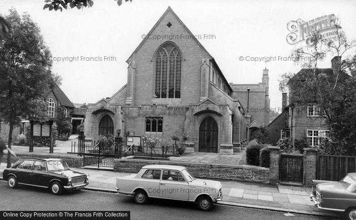 Photo of Mill Hill, St Michael's Church c.1969