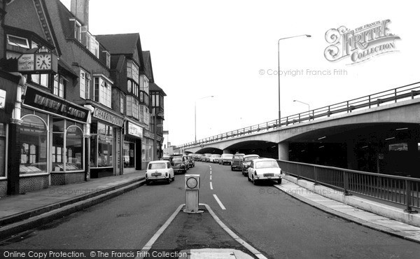 Photo of Mill Hill, Station Road c1968