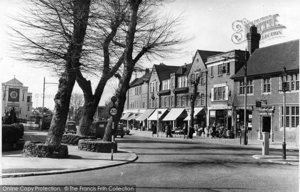 Photo of Mill Hill, The Broadway c.1955