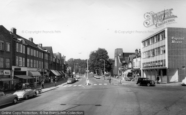 Photo of Mill Hill, The Broadway c.1960