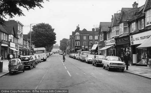 Photo of Mill Hill, The Broadway c.1969