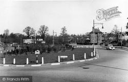Mill Hill, The Circus c.1955