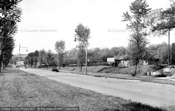 Mill Hill, the Golf Club, Barnet Way c1955