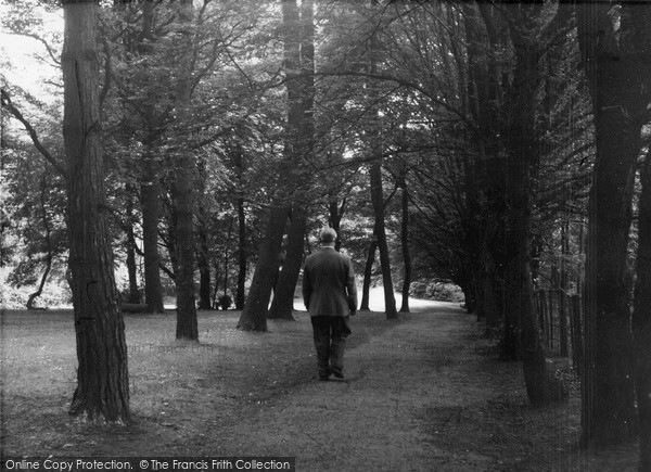 Photo of Mill Hill, The Park c.1960