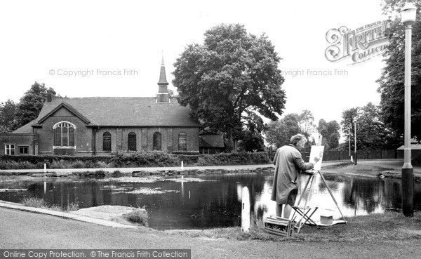 Mill Hill, the Village Pond, the Ridgeway c1965