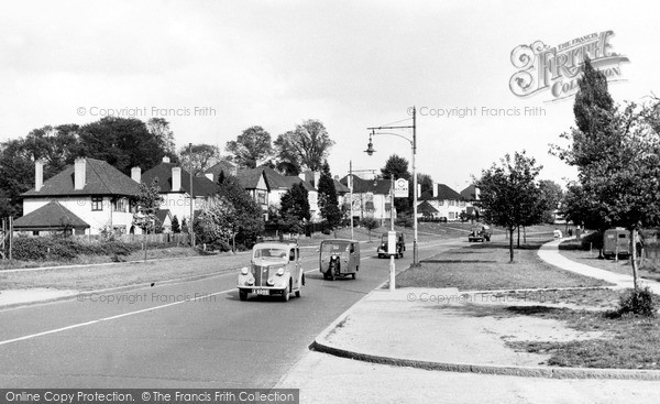 Mill Hill, Watford Way c1955