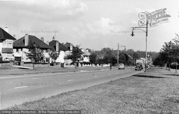 Photo of Mill Hill, Watford Way c.1955