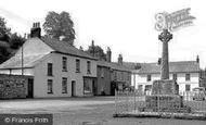Millbrook, Square and War Memorial c1955